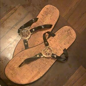 Michael Kors flip flops size 11